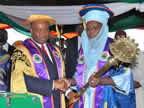 In a colourful installation ceremony, the Akwa Ibom State Executive Governor, Chief Godswill Akpabio installed the first Chancellor of Akwa Ibom State University, Alhaji Najib Hussaini Adamu (...